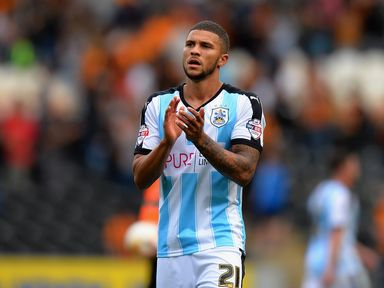 Nahki Wells will miss Huddersfield's final game of the season with a knee injury.
