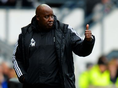 Paul Williams won two of his 10 games in charge of Forest