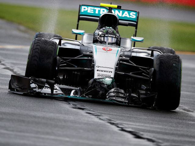 Nico Rosberg: Claimed victory in Melbourne