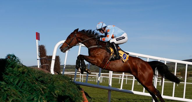 Un De Sceaux: Takes his chance in the Tingle Creek.