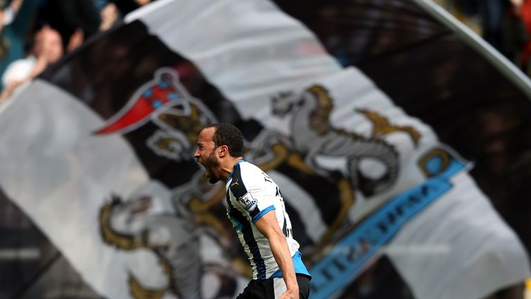 Newcastle's Andros Townsend has made it in after a great run of form for his club