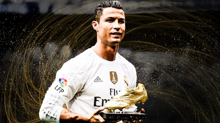 Cristiano Ronaldo is chasing his fifth European Golden Shoe award ...