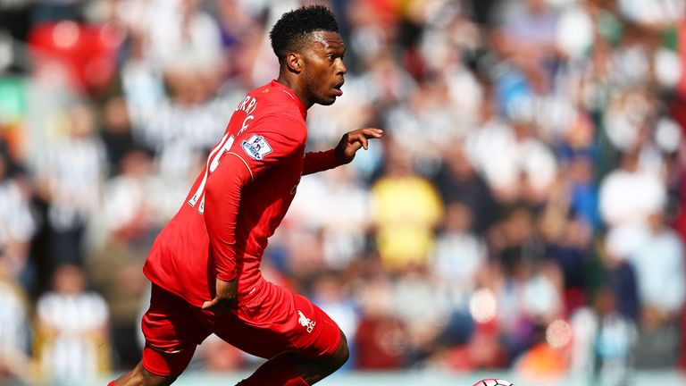 Liverpool striker Daniel Sturridge failed to thank the travelling fans after the full-time whistle