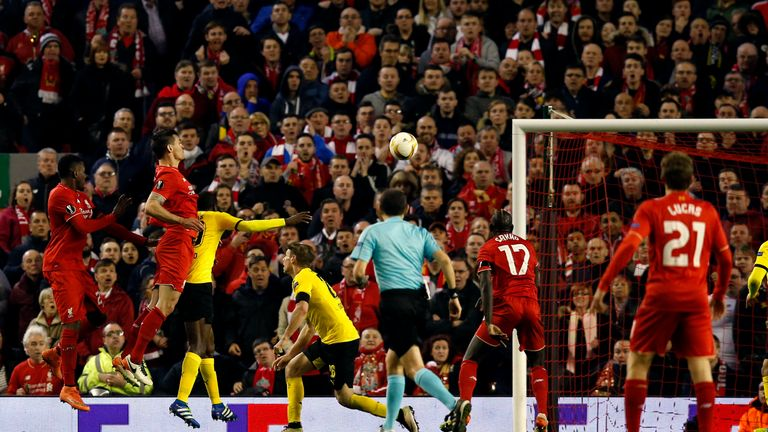 Lovren heads Liverpool's winner in stoppage time