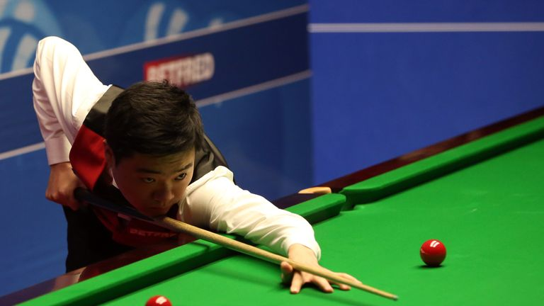 Ding Junhui looks in fine form in Sheffield this year