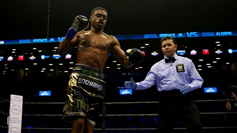 Errol Spence Jr could become Brook's latest mandatory challenger later this year
