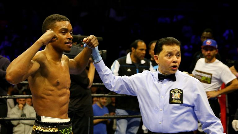 Errol Spence Jr is happy to challenge IBF champion Kell Brook in Sheffield