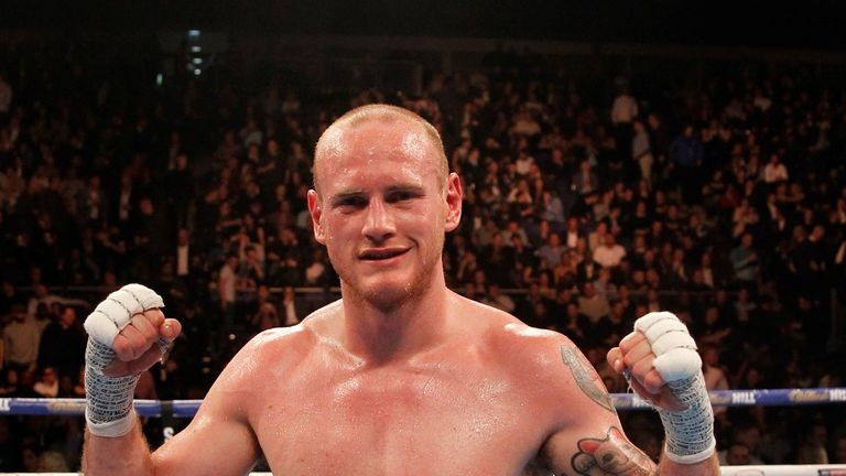 George Groves will also be in action at The O2 on June 25