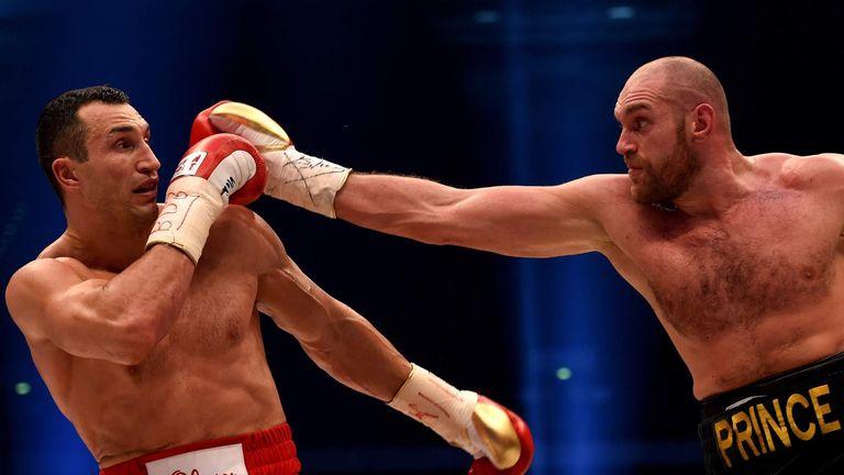 Image result for Tyson Fury v Wladimir Klitschko