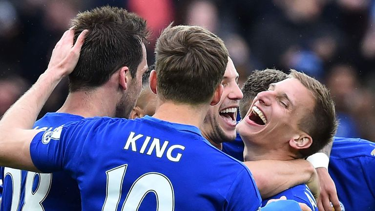 Leicester will be crowned Premier League champions if they win at Old Trafford