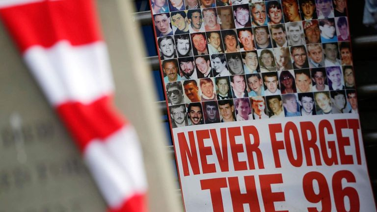 Hillsborough 96 Victims