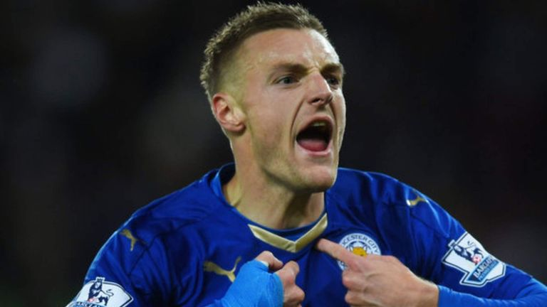 Jamie Vardy scored 24 goals for Leicester in all competitions last season