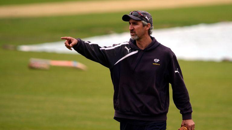 Jason Gillespie denies speculation linking him with a return to Australia.