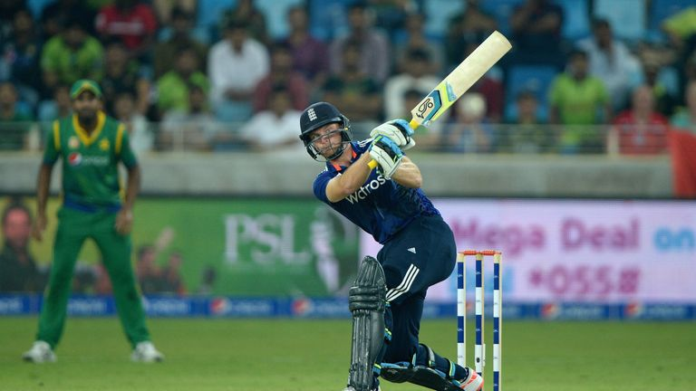 Jos Buttler hits his way to England's fastest ever ODI century