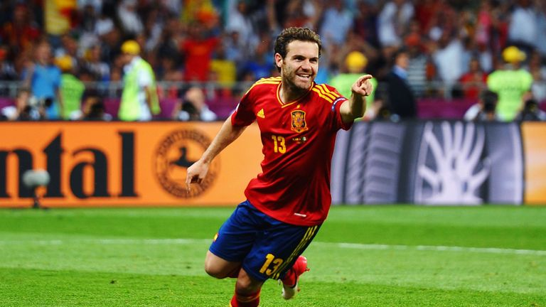Juan Mata has not made Spain's 25-man provisional squad