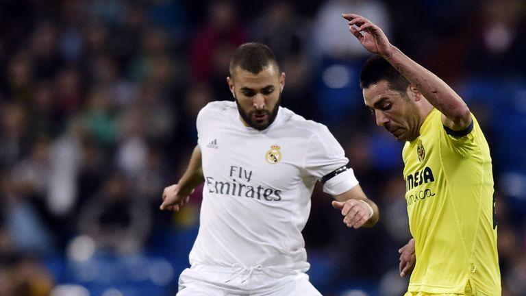 Karim Benzema opened the scoring