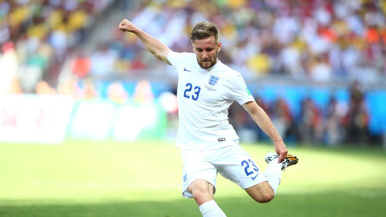 Shaw was part of England's 2014 World Cup squad, but has only played four times for his country since then