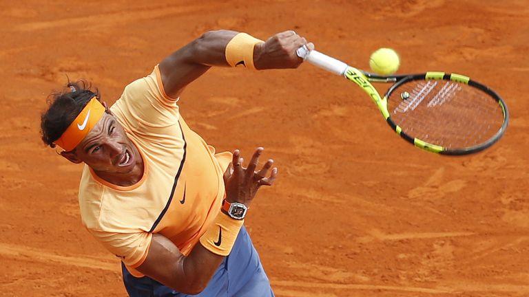 Spain's Rafael Nadal is top seed