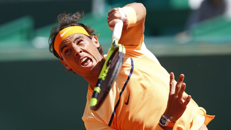 Nadal will be out to surpass Guillermo Vilas