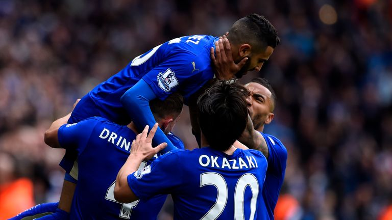 Mahrez scored in the win over Swansea City on Super Sunday