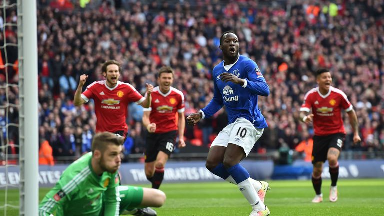 Romelu Lukaku has not scored in his last seven top-flight appearances