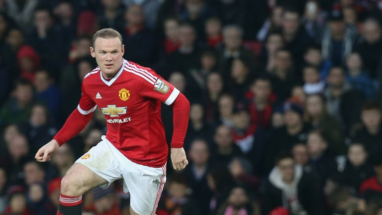 Rooney back in action on Monday night at Old Trafford