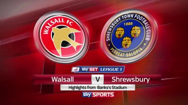 Walsall 2-1 Shrewsbury