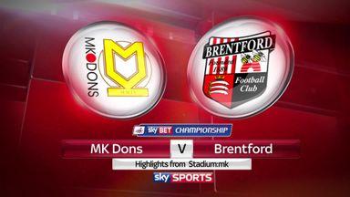 MK Dons 1-4 Brentford