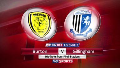 Burton 2-1 Gillingham