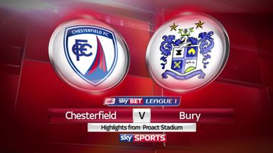 Chesterfield 3-0 Bury