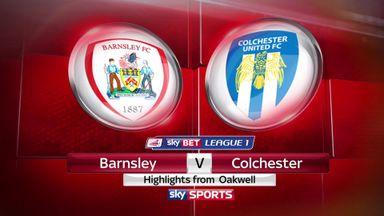 Barnsley 2-2 Colchester