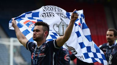Alex Schalk was the League Cup hero for Ross County