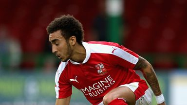 Brandon Ormonde-Ottewill will miss Swindon's game with Shrewsbury through suspension