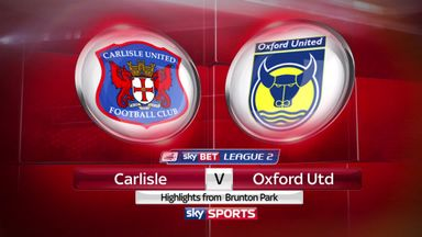 Carlisle 0-2 Oxford
