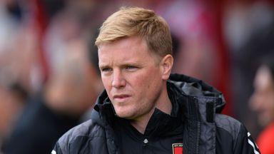 Eddie Howe has been linked with Everton