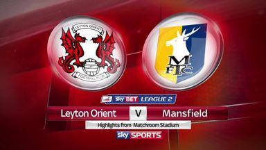 Leyton Orient 1-0 Mansfield