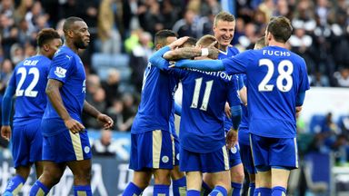 Leicester could win the title at Old Trafford on Sunday