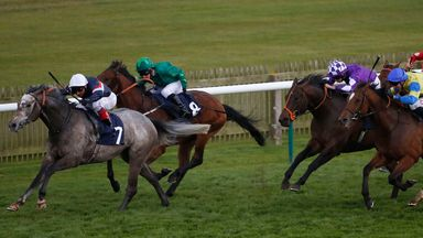 Magical Memory and Frankie Dettori win the Abernant Stakes last season.