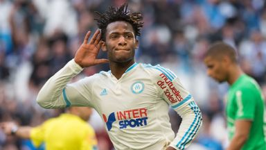 Michy Batshuayi scored the only goal of the game for Marseille