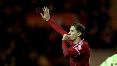Gaston Ramirez has been on loan at Middlesbrough