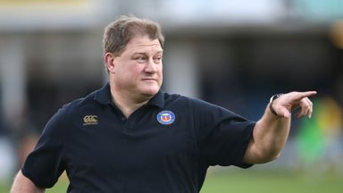 Neal Hatley is responsible for coaching defence and forwards at Bath