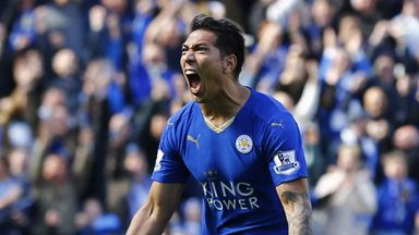 Leonardo Ulloa was a Premier League title winner with Leicester last term