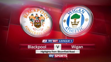 Blackpool 0-4 Wigan