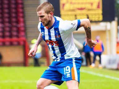 Kilmarnock's Craig Slater wants to leave the club