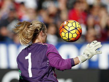 Emma Byrne: Saved a penalty