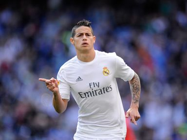 James Rodriguez: Linked with move away from Real Madrid