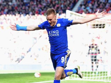 Jamie Vardy: A revelation for the Foxes this season