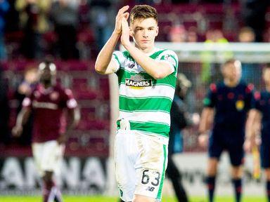 Celtic defender Kieran Tierney