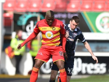 Mathias Pogba: On target in Partick win