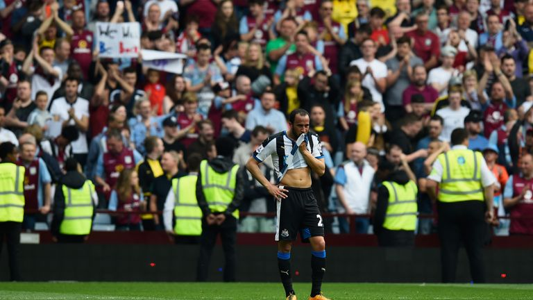 Newcastle, Aston Villa and Norwich were relegated from the Premier League in 2015/16